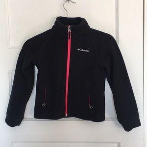 Columbia zip up jacket size CS 6/6x